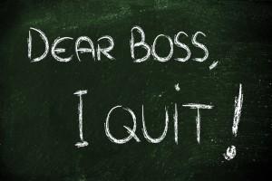 Dear Boss I quit